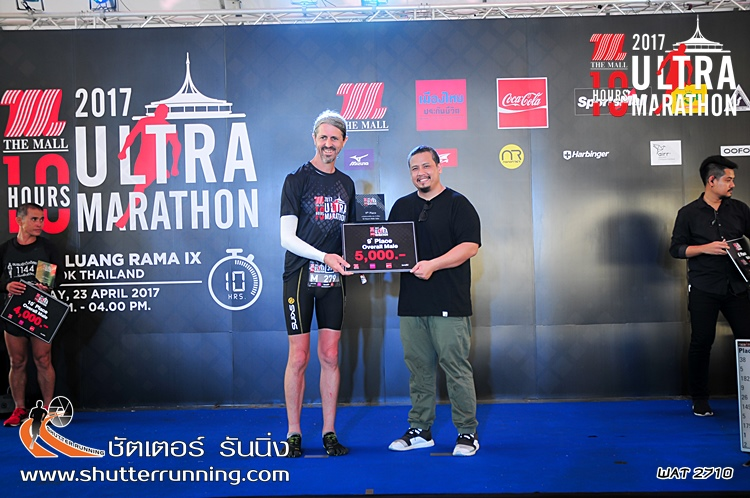Top 10 Prize Winner at The Mall 10 Hours Ultra Marathon, Bangkok Thailand [Grant Campbell - Raw Aussie Athlete]